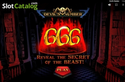 Intro. Devil's Number (Video Slot from Red Tiger)