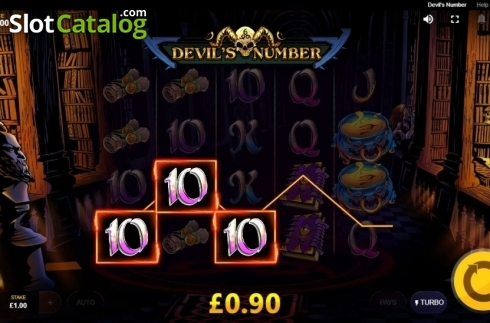 Win Screen. Devil's Number (Video Slot from Red Tiger)