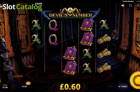 Avalanche. Devil's Number (Video Slot from Red Tiger)