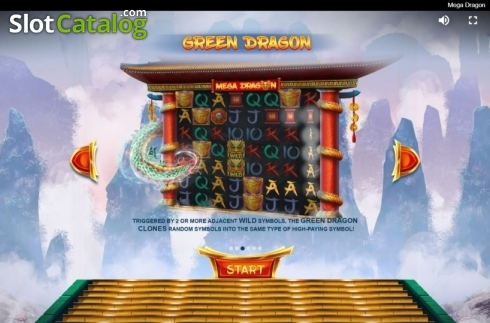 Features. Mega Dragon (Video Slot from Red Tiger)