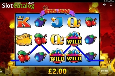 Win Screen 4. Reel King Mega (Video Slots from Red Tiger)