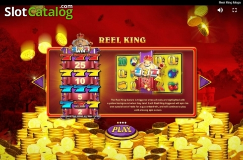 Features 1. Reel King Mega (Video Slots from Red Tiger)