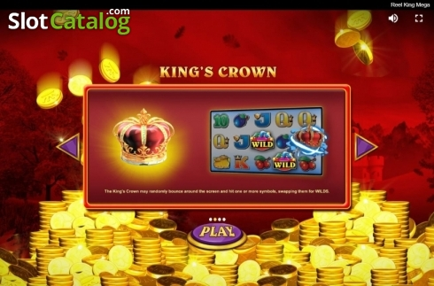 Features 2. Reel King Mega (Video Slots from Red Tiger)