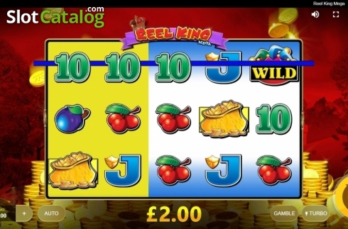 Win Screen 1. Reel King Mega (Video Slots from Red Tiger)