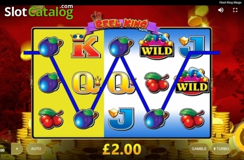Win Screen 2. Reel King Mega (Video Slots from Red Tiger)