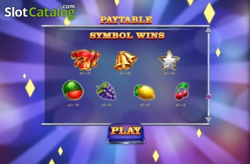 Paytable. Mega Rise (Video Slot from Red Tiger)