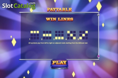 Paylines. Mega Rise (Video Slot from Red Tiger)