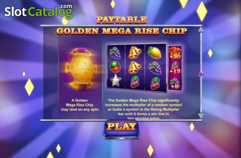 Features 3. Mega Rise (Video Slot from Red Tiger)
