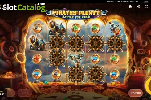 Wild Island Row 2. Pirates Plenty Battle for Gold (Video Slots from Red Tiger)
