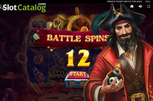 Free Spins 1. Pirates Plenty Battle for Gold (Video Slots from Red Tiger)