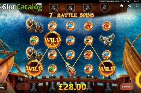 Free Spins 2. Pirates Plenty Battle for Gold (Video Slots from Red Tiger)