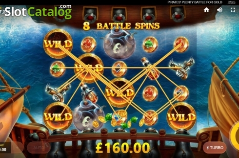 Free Spins 3. Pirates Plenty Battle for Gold (Video Slots from Red Tiger)