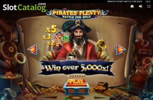 Game Rules 1. Pirates Plenty Battle for Gold (Video Slots from Red Tiger)