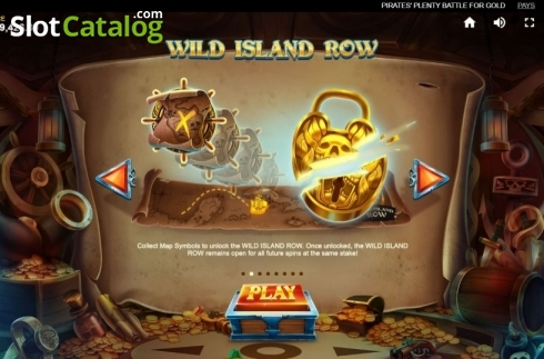Game Rules 2. Pirates Plenty Battle for Gold (Video Slots from Red Tiger)