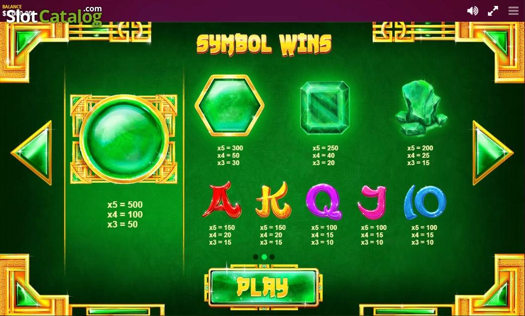 Spiele Mega Jade - Video Slots Online