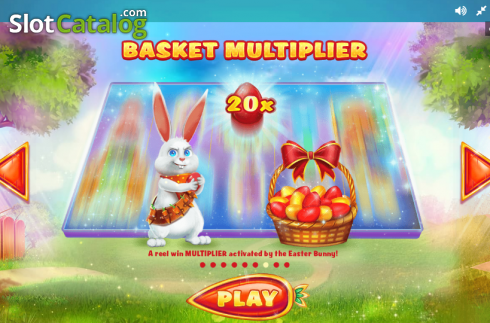 Paytable 7. Lucky Easter (Video Slot from Red Tiger)