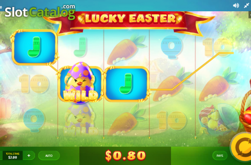 Screen 3. Lucky Easter (Video Slot from Red Tiger)