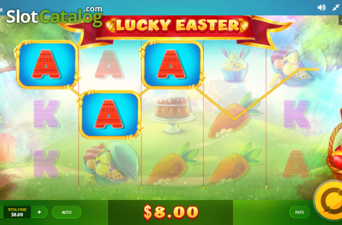 Screen 2. Lucky Easter (Video Slot from Red Tiger)