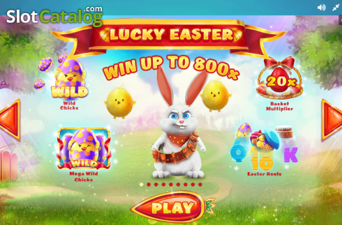 Paytable 1. Lucky Easter (Video Slot from Red Tiger)