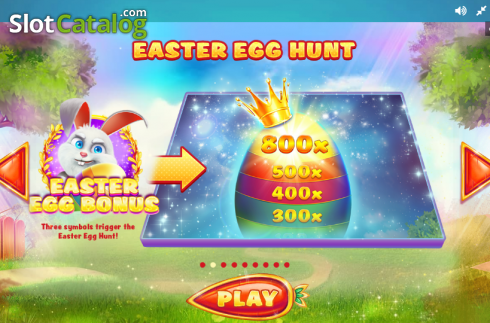 Paytable 2. Lucky Easter (Video Slot from Red Tiger)