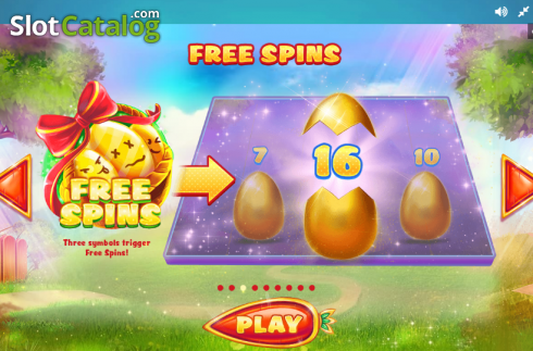 Paytable 3. Lucky Easter (Video Slot from Red Tiger)