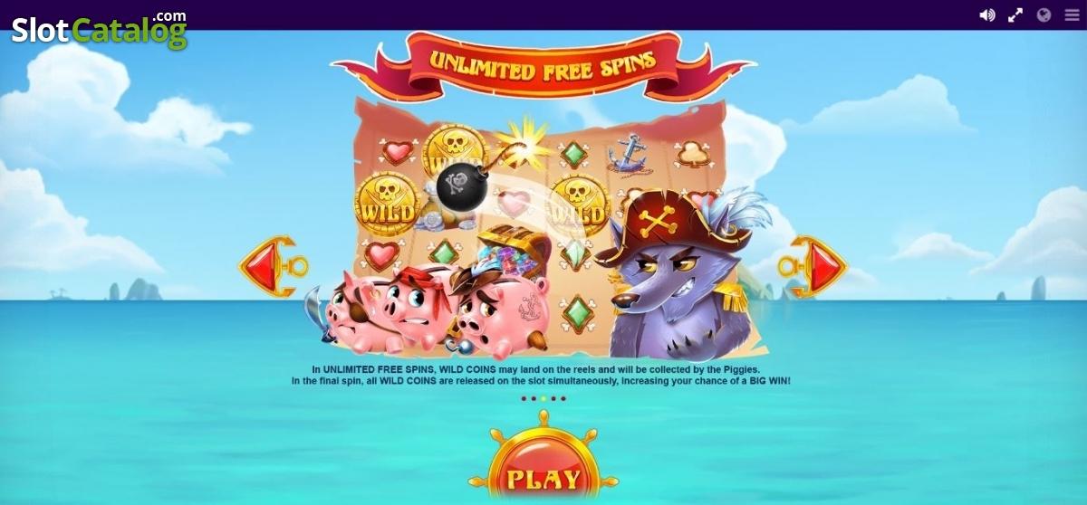 Spiele Piggy Pirates - Video Slots Online