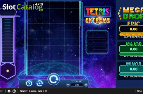 Reel Screen. Tetris Extreme (Video Slots from Red7)