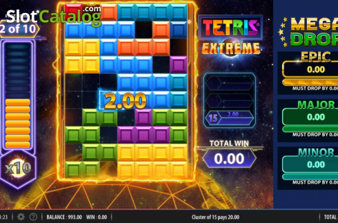 Free Spins 2. Tetris Extreme (Video Slots from Red7)