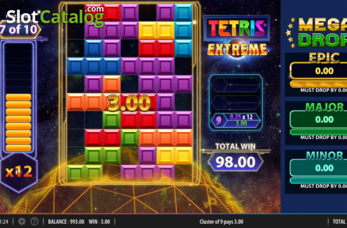Free Spins 4. Tetris Extreme (Video Slots from Red7)