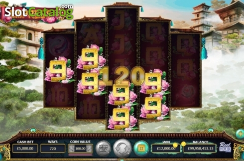 Win Screen. Empress88 (Video Slot from ReelNRG)