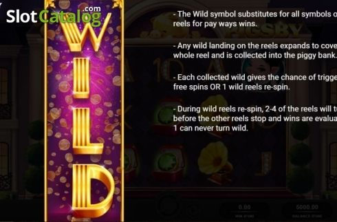 Wilds. The Great Pigsby (Video Slot from Relax Gaming)