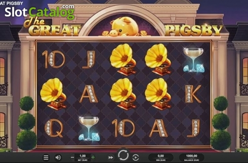Reel Screen. The Great Pigsby (Video Slot from Relax Gaming)