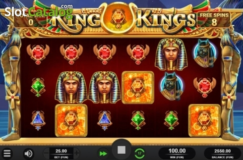 Free Spins Reels. King of Kings (Video Slot from Relax Gaming)