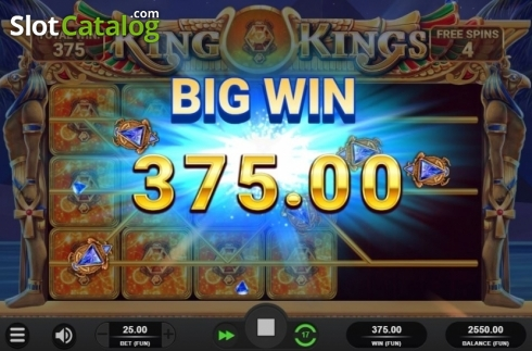 Big Win. King of Kings (Video Slot from Relax Gaming)