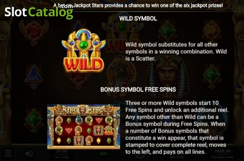 Wild. King of Kings (Video Slot from Relax Gaming)