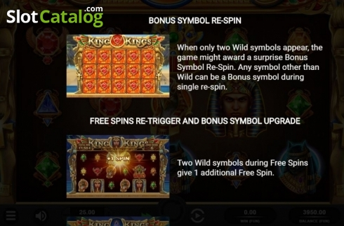 Wild Respin. King of Kings (Video Slot from Relax Gaming)