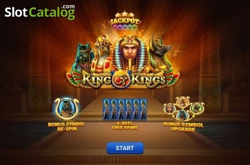 Intro 1. King of Kings (Video Slot from Relax Gaming)