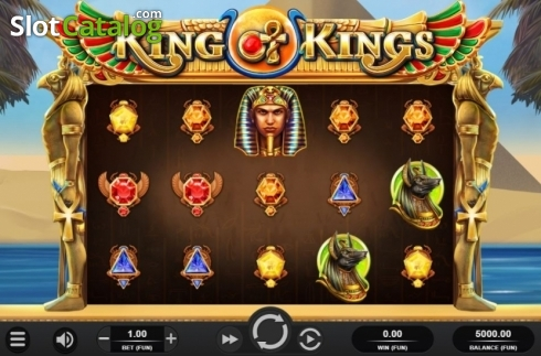 Reel Screen. King of Kings (Video Slot from Relax Gaming)