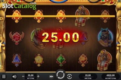Win Screen. King of Kings (Video Slot from Relax Gaming)