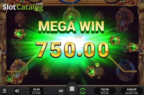 Mega Win. King of Kings (Video Slot from Relax Gaming)