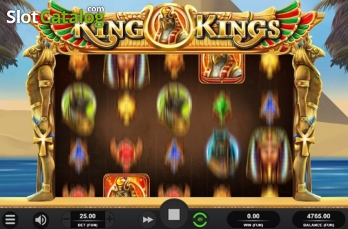 Respin Feature. King of Kings (Video Slot from Relax Gaming)