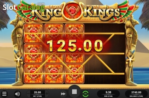 Respin Win. King of Kings (Video Slot from Relax Gaming)
