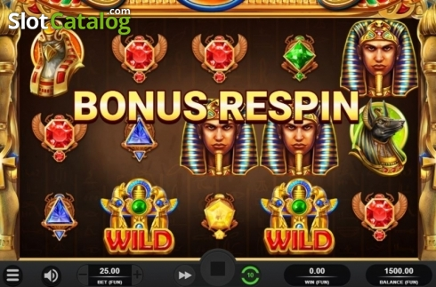 Bonus Respin. King of Kings (Video Slot from Relax Gaming)