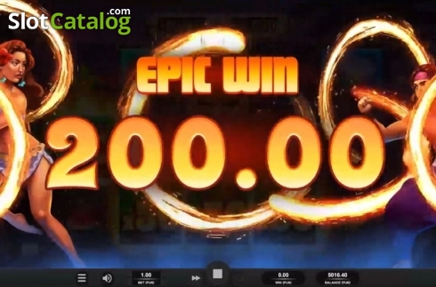 Epic Win. Ignite The Night (Video Slot from Relax Gaming)