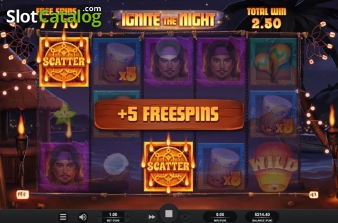 Free Spins 4. Ignite The Night (Video Slot from Relax Gaming)