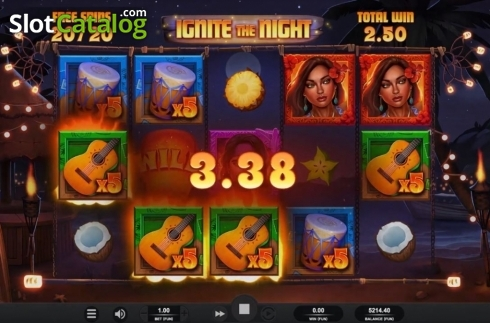 Free Spins 5. Ignite The Night (Video Slot from Relax Gaming)