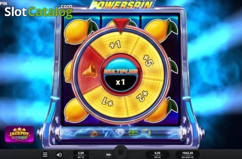 Bonus Wheel. Powerspin (Video Slot from Relax Gaming)