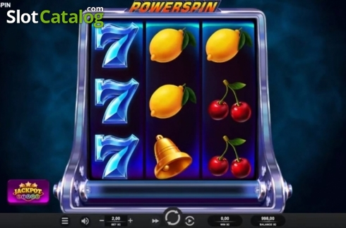 Reel Screen. Powerspin (Video Slot from Relax Gaming)