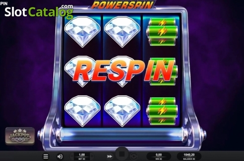 Respin. Powerspin (Video Slot from Relax Gaming)