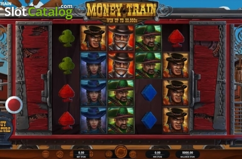 Reel Screen. Money Train (Relax Gaming) (Video Slot from Relax Gaming)